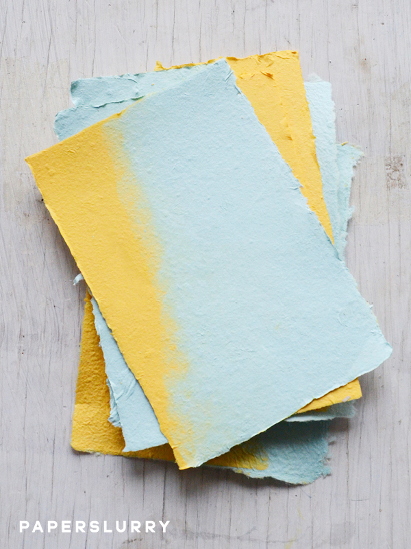 DIY making paper from recycled materials instructions